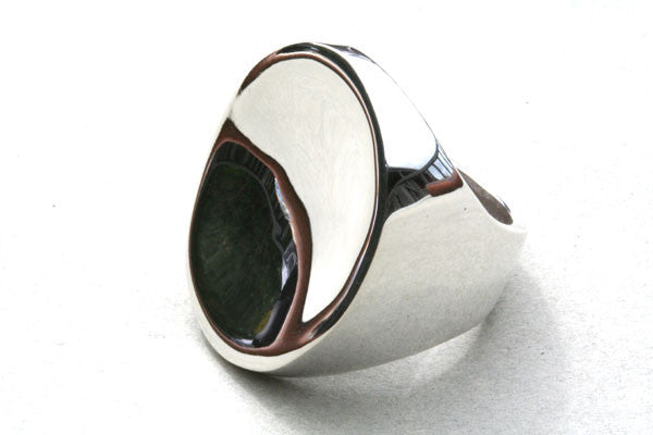 long concave signet ring