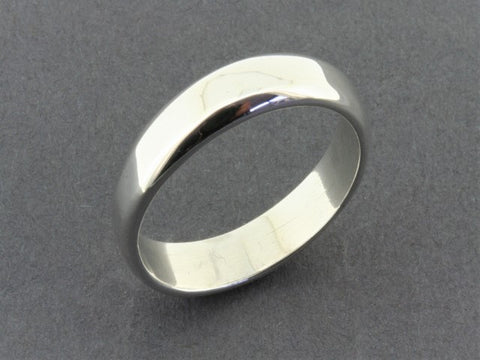 comfort band - sterling silver