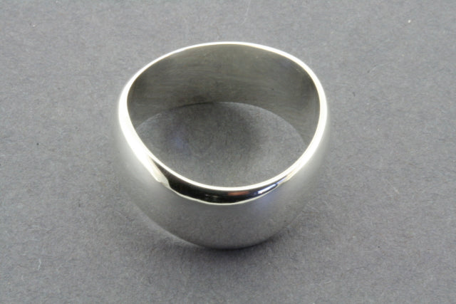 swerve ring - sterling silver