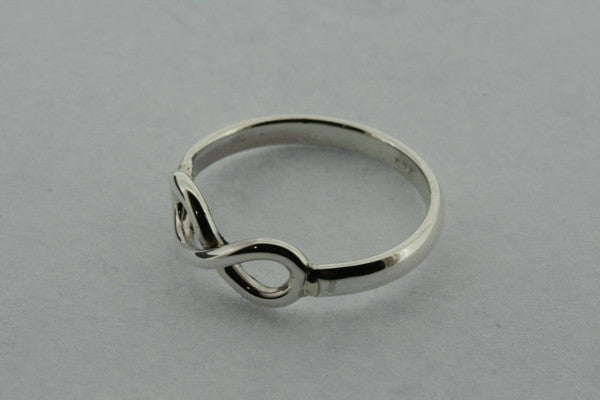 fine infinity ring