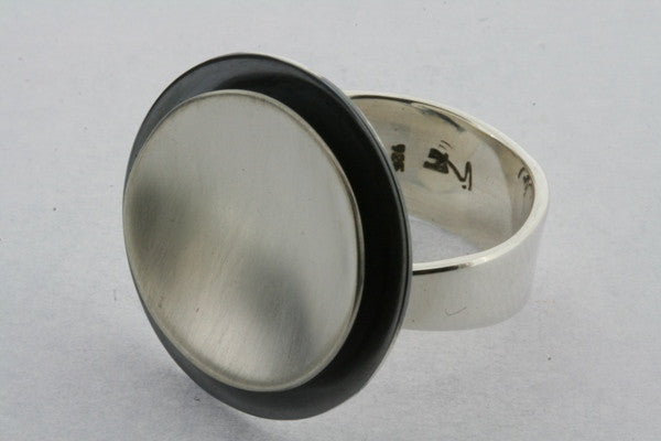 cup ring - oxidized