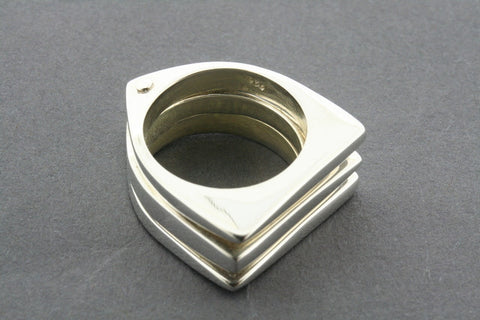 3 in one 3 point ring