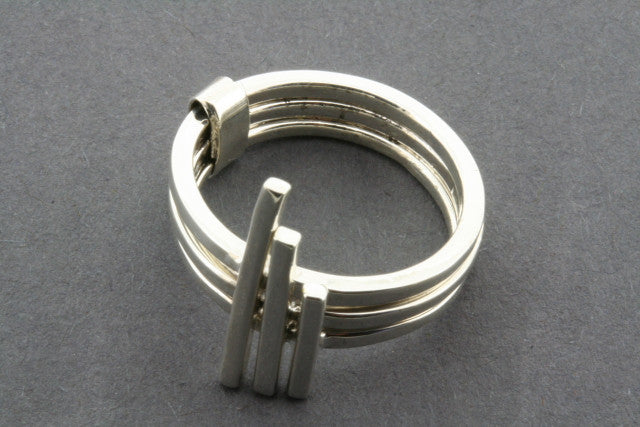 3 in one sticks ring