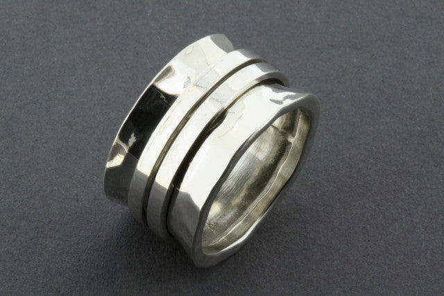 concave battered 2 clean spinner ring