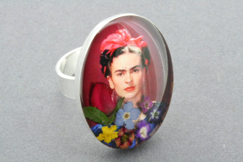 Frida Kahlo ring 1 - adjustable