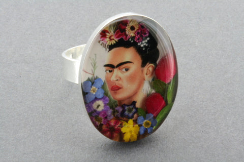 Frida Kahlo ring 3 - adjustable