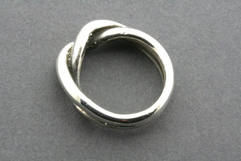 simple twist knot ring