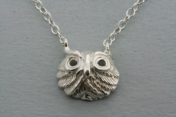 owl mask necklace