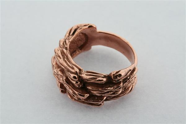 paperbark ring - copper