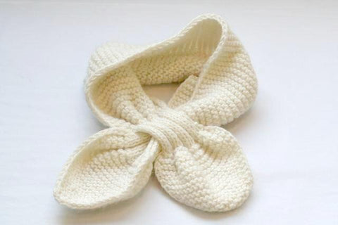 pull through scarf - ivory