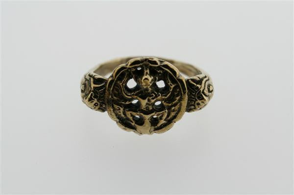 shiva ring - bronze
