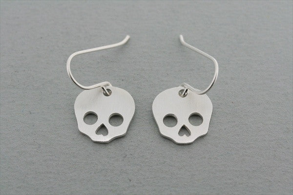 skull hook earring