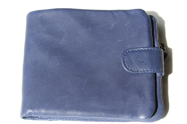 slouch wallet - lapis