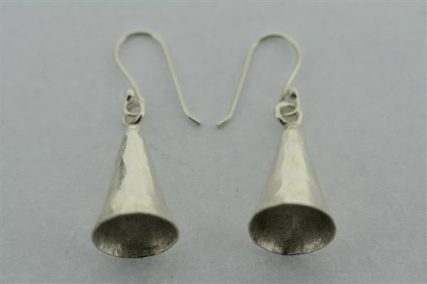 small cone earring