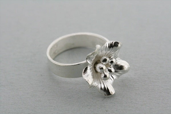 small orange blossom ring