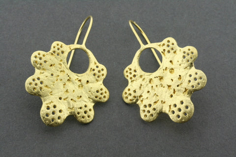 Samantha earring - gold plated
