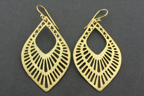 Chantel earring - gold plated