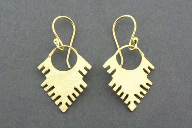 Cynthia earring - gold plated