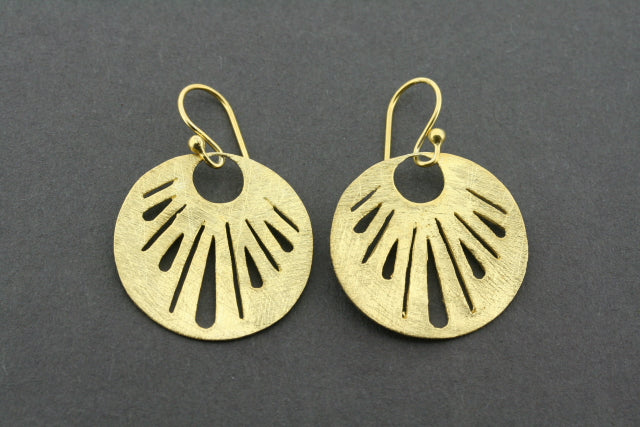 Christine earring - gold plated