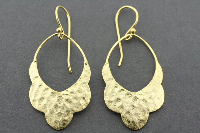 Desert Belle earring - gold plated