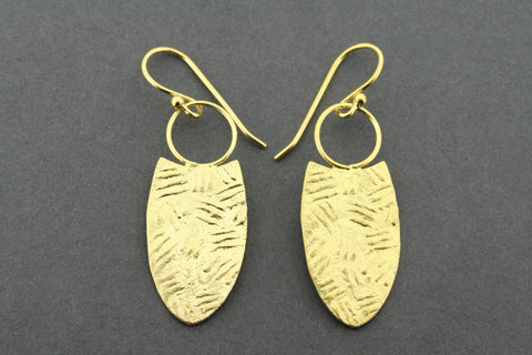 Haratine earring - gold plated