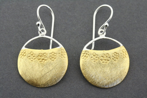 Quora earring - gold plated