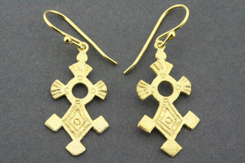 agadez earring - gold plated