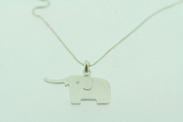 little elephant necklace