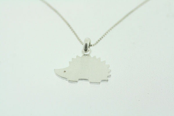 little hedgehog necklace