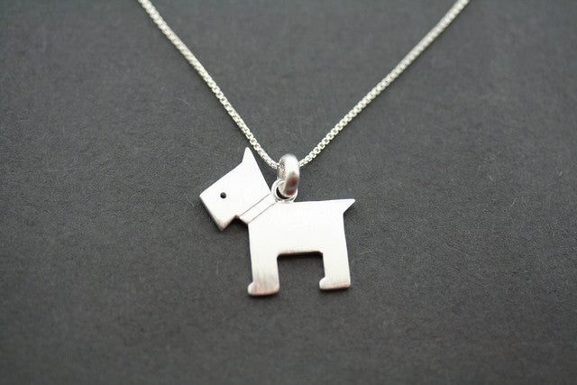terrier necklace