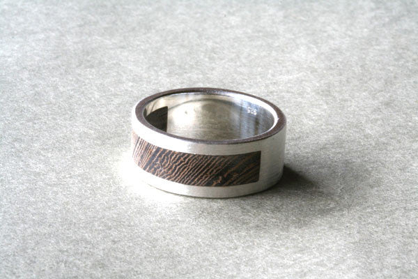 wood band ring