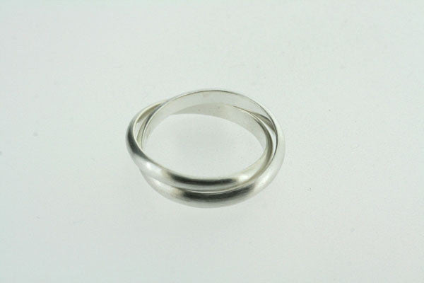 2 x russian curved ring