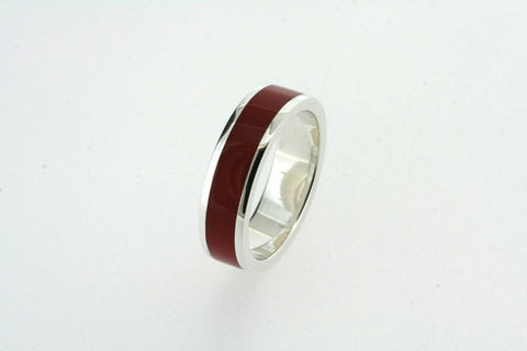 red resin ring