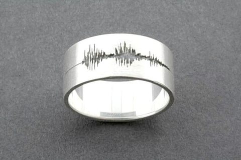 """I love you"" voicenote ring"