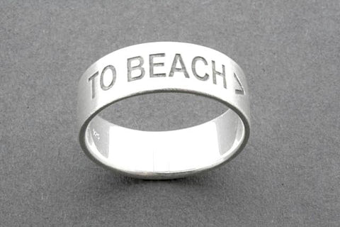TO BEACH > ring