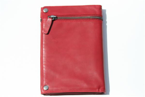 travel wallet - red