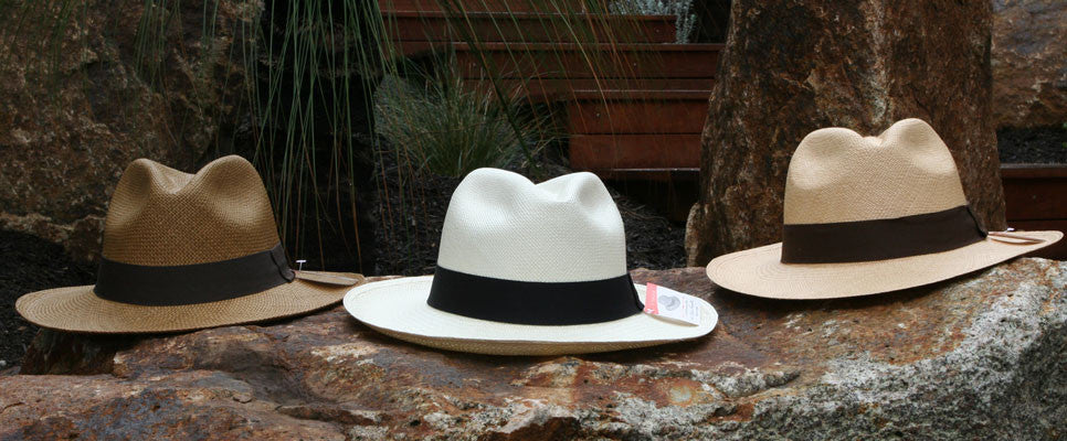 Ecuadorian original handcrafted artisan Panama hats by the The Montecristi hat company