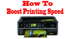 how to speed up my printer