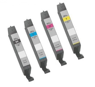 Canon CLI-281XL Ink Cartridge Bundle (Black, Yellow, Cyan, Magenta)