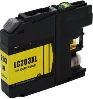 Brother High Yield Yellow LC203Y Ink Cartridge