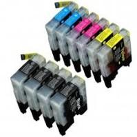 Brother LC75 Ink Cartridge Bundle (10 Cartridges)