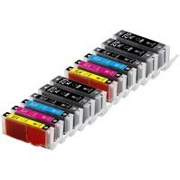 Canon PGI-270XL & CLI-271XL (set of 13 - 3 Pigment Black and 2 of each Black, Cyan, Magenta, Yellow, Gray)
