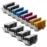Canon PGI220 & CLI221 Ink Cartridge Bundle (12 cartridges)