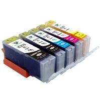 Canon PGI270XL & CLI271XL Set (5 XL Ink Cartridges: 1 Pigment Black and 1 Each of CLI271XL Black, Cyan, Magenta, Yellow)