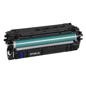 HP 508X Cyan Toner Cartridge - HP CF361X