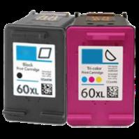 HP 60XL Black & Tri-Color Ink Bundle (CC641WN & CC644WN )