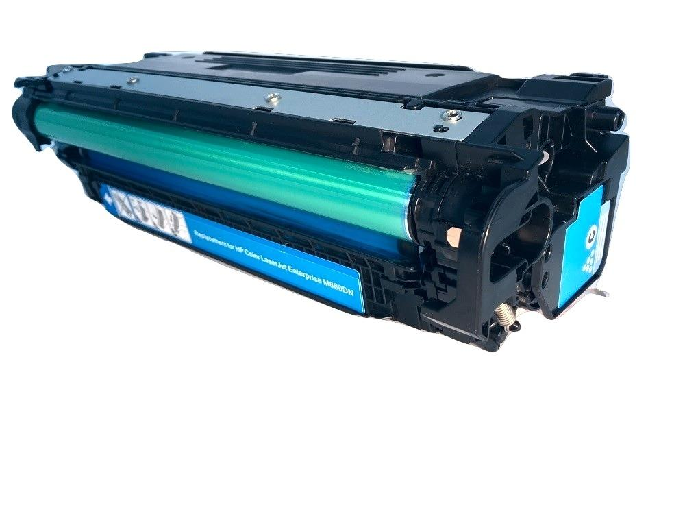 HP 653A Cyan Toner Cartridge - HP CF321A