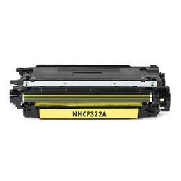 HP 653A Yellow Toner Cartridge - HP CF322A