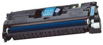 HP C9701A (HP 121A) Cyan Laser Toner Cartridge