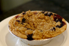 Peach Blueberry Crumble